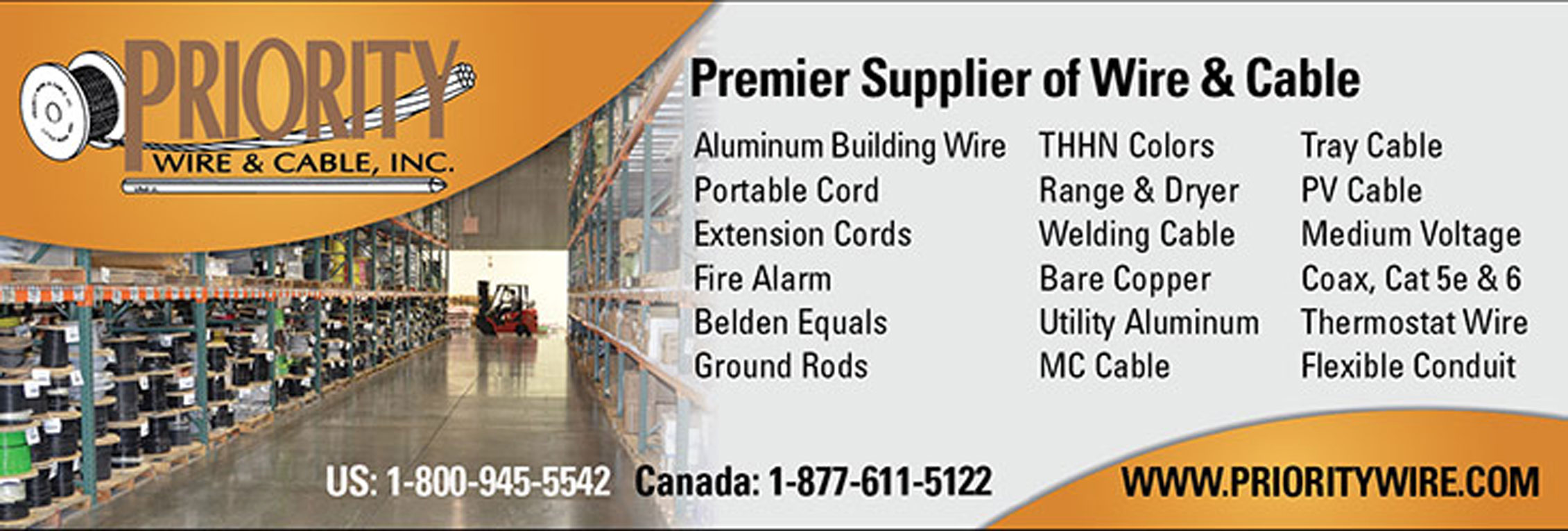 Premier Supplier of Wire & Cable